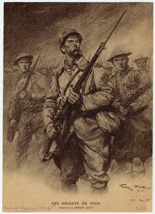 Les soldats de Foch.