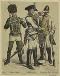 Husar (offizier) ; Seydlitz=Kürassier ; Grenadier zu Pferd (Gemainer)