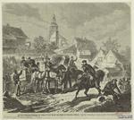 Preussische Telegraphen-Abtheilung Und Feldpost Auf Dem Marsche Nach Röchlitz Ber Reichenberg (Böhmen).