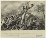 Capture of the guns by the Highlanders before Cawnpore.