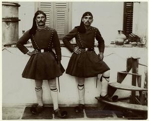 [Greek soldiers, ca. 1918.]
