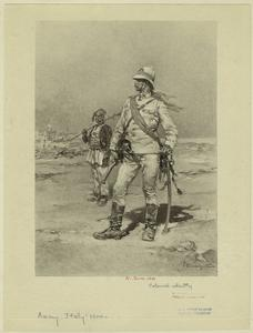 [Italian colonial infantry, 19th century.]