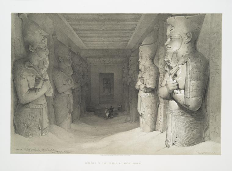 Fascinating Historical Picture of Great Temple in 1842