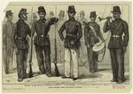 Malay Soldiers Under The Dutch At Sumatra.