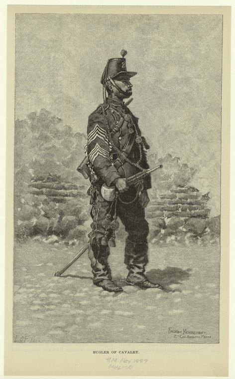 Fascinating Historical Picture of Frederic Remington in 1889