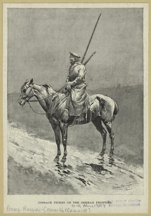 Fascinating Historical Picture of Frederic Remington in 1894