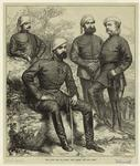 The Civil War In Spain: Don Carlos And His Staff.