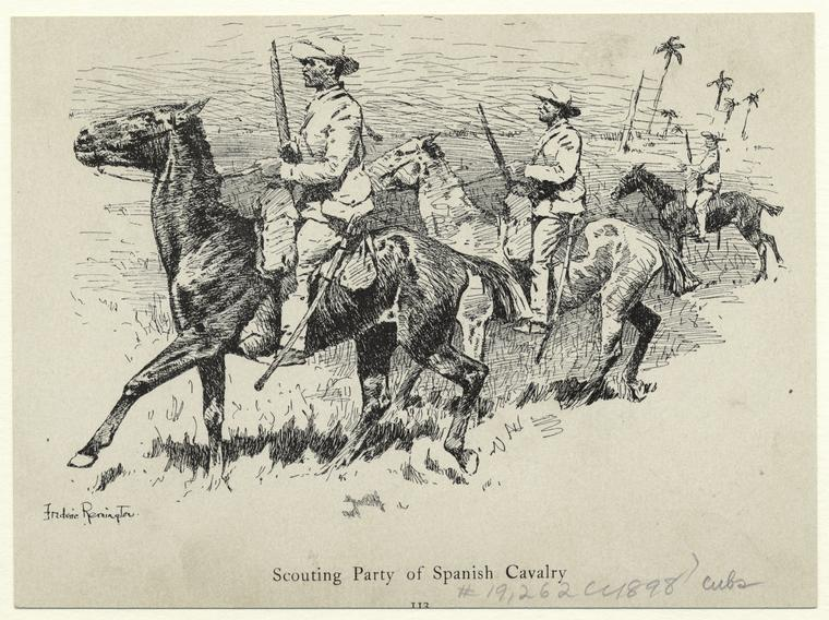 Fascinating Historical Picture of Frederic Remington in 1898
