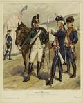 Cavalry, Infantry, artill