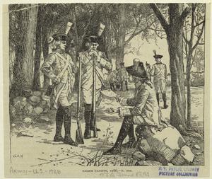 Salem cadets, 1786.