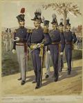 Major General, Staff And Line Officers, Cadets, 1821-1835.
