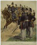 Major General, Staff & Line Officers.