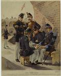 Engineer, Foot-Rifles, Dragoon, (Musician), Light Artillery, Infantry.