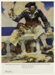 Illustration By Frank E. Schoonover For Blackbeard Buccaneer By Ralph D. Paine.