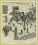 The Raiding Of Granada, Nicaragua, By Captain Grognet, Who With Three Hundred And Forty Five Buccaneers Drove Twenty Five Hundred Spanish Soldiers Out Of Their Fortifications.