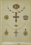 [Jewelry, Paris, 1864.]