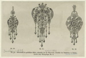 [Jewelry, nineteenth century.]