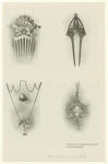 Combs And Pendants Wrought By Max Peinlich.