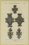 Buttons Of Wood, Covered With Plates Of Gold, Highly Ornamented.