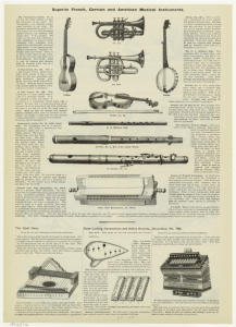 Superior French, German and American musical instruments.