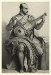 Self-portrait of Paolo Caliari, or Veronese, playing the viol.