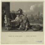 Teniers mit seiner Familie.