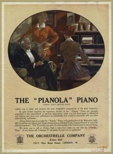 "The ""Pianola"" piano."
