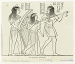 Old Egyptian musicians.
