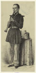 French military clarinet player.