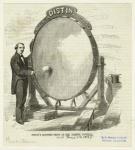 Distin's monster drum at the Handel festival.