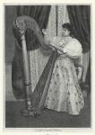 La harpe moderne d' Érard.