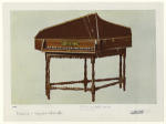 17th c. spinet, made in London.