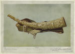 Ivory hunting horn called Oliphant--16th century.
