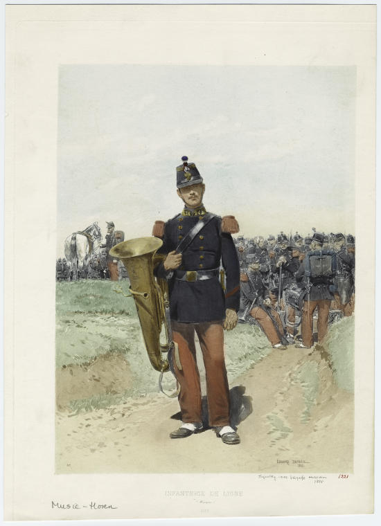 Infanterie de ligne.