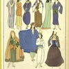 Skirts, trouser, draperies