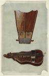 Bell harp and hurdy-gurdy.