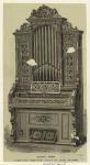 Cabinet organ.