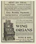 Wing organs.