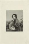 Jeune fille de Sorrente avec un tambourin