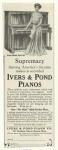 Advertisement for Ivers & Pond Piano Co.