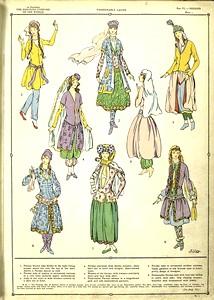 Fashionable ladies.