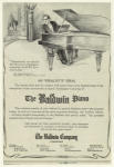 The Baldwin piano.