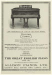 The instruments de luxe of the piano world: Allison Pianos.