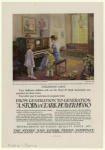 Advertisement for the Story & Clark player piano.