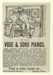 Vose & Sons Pianos.