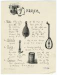 France : Vielle ; Archilute ; Pochette ; Tambour.