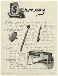Musical instruments of Germany.