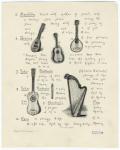 Italian musical instruments.
