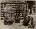 Female musicians, India.