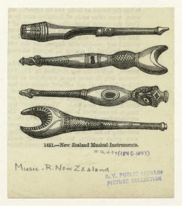 New Zealand musical instruments.